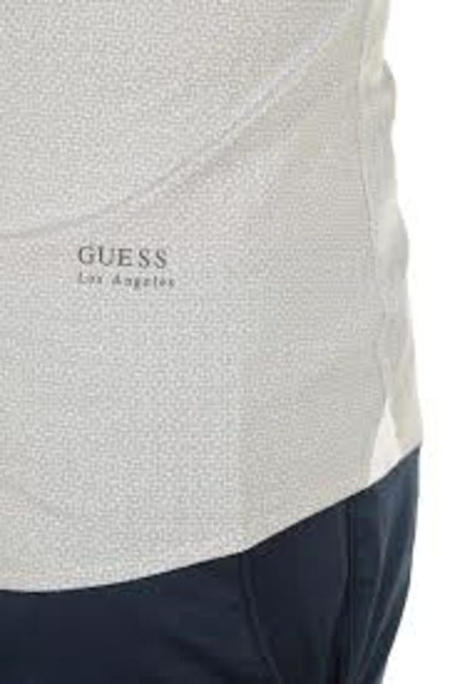 Guess uomo camicia in microfantasia-2