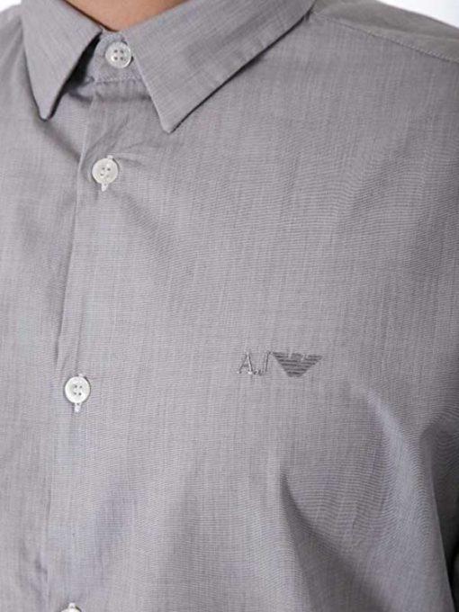 Armani jeans camicia da uomo vestibilità regolare