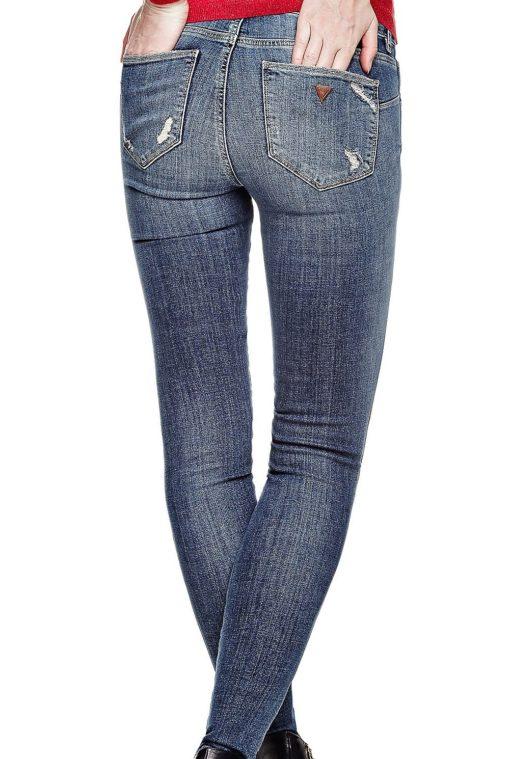 Guess jeans strappato da donna-1