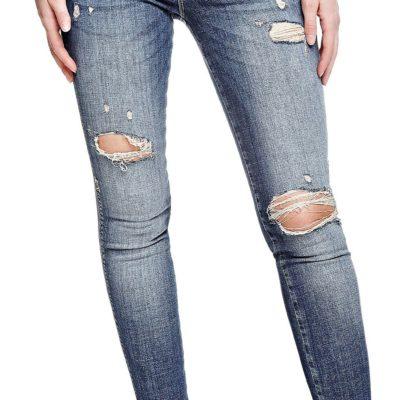 Guess jeans strappato da donna