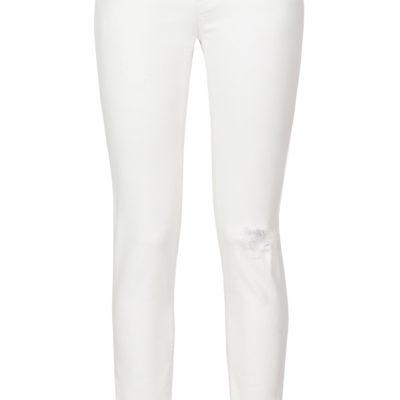 Armani jeans strappati bianchi
