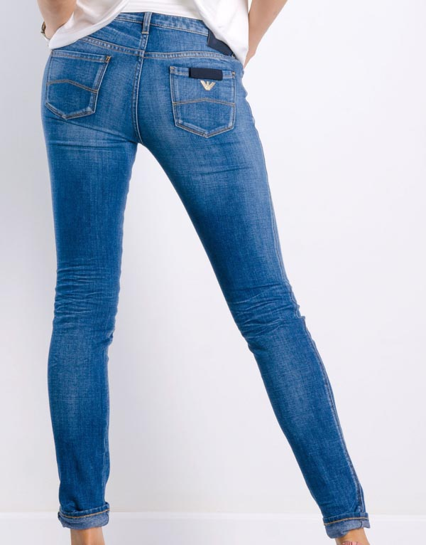 Armani jeans da donna j06 fit skinny-1