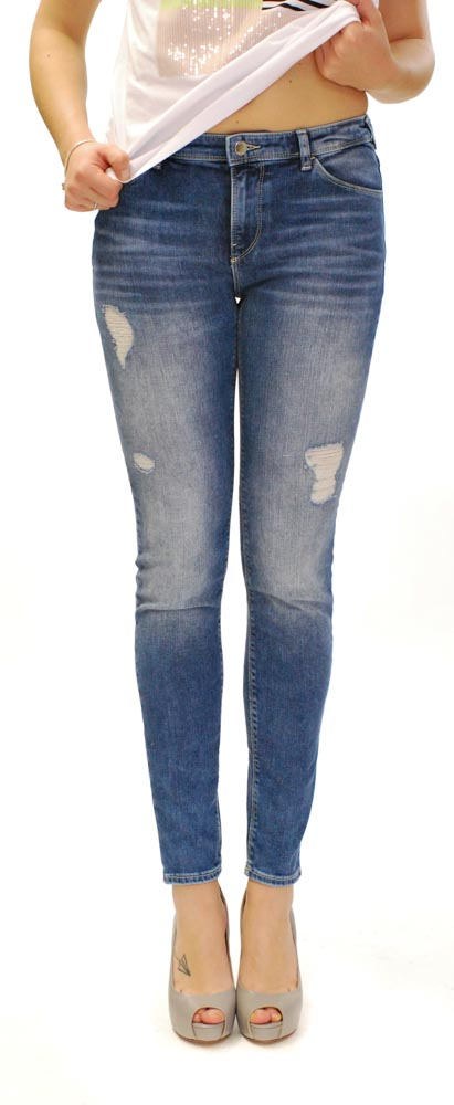 Jeans con strappi Armani jeans da donna