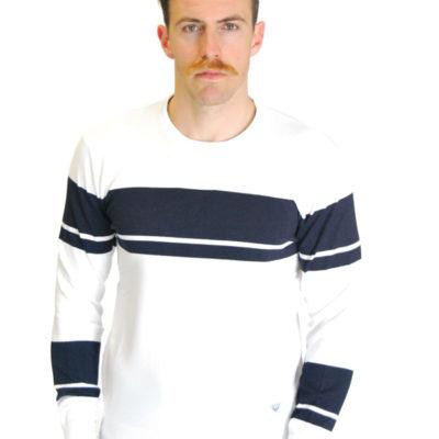 Armani jeans maglia uomo bianca