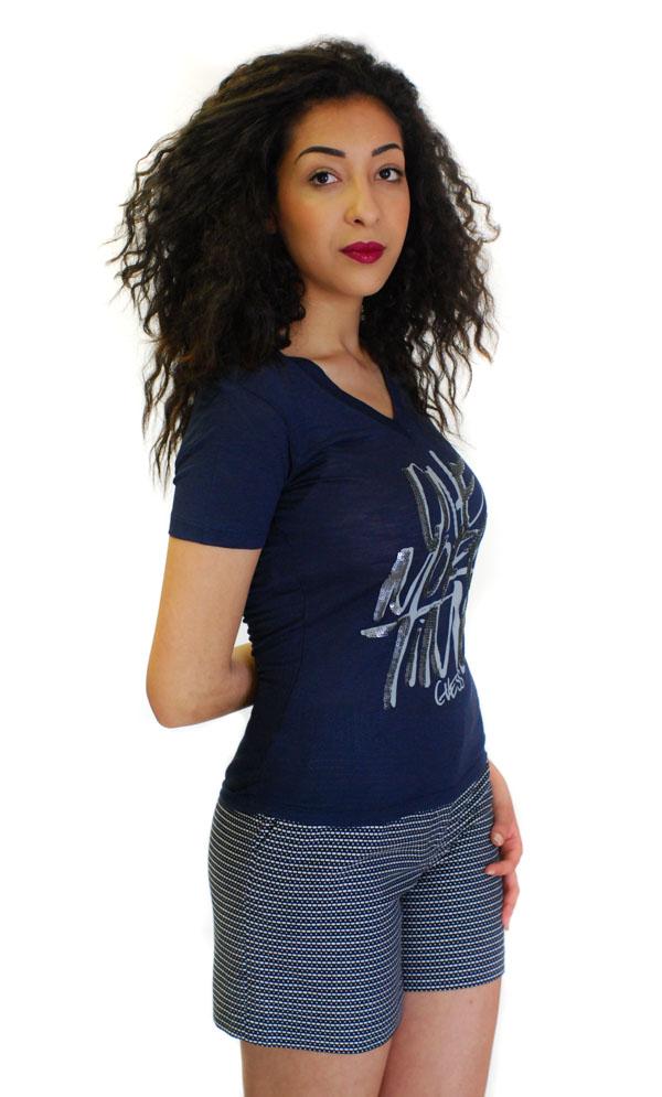 Bermuda Armani jeans da donna