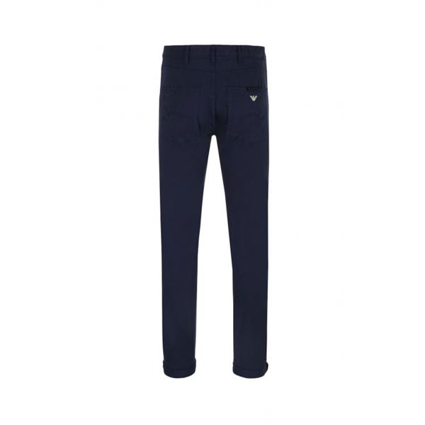 Armani jeans pantalone blu cinque tasche j45-1