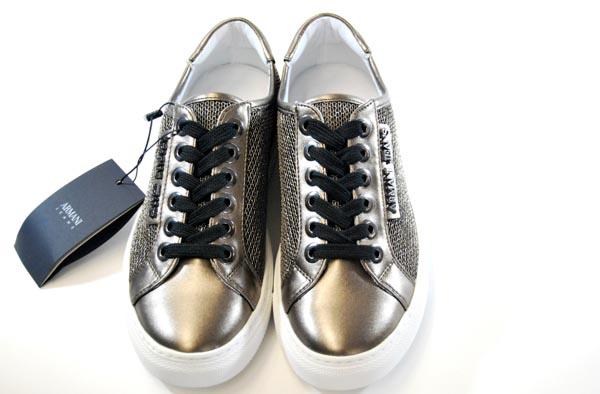 Lame'Blumarestore Sneakers Donna Da Jeans In Armani 5Aj4L3R