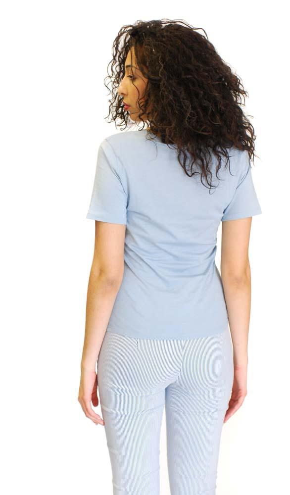 Armani jeans donna t-shirt stampa geometrica-1