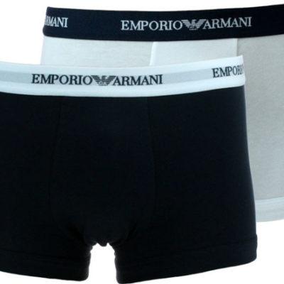 Emporio Armani 2 pack bianco e blu