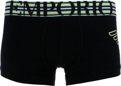 Emporio Armani boxer uomo aquila e ed elastico riga-1
