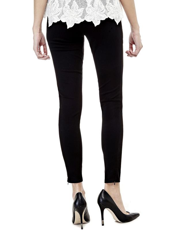 Legging Guess donna con zip alla caviglia visto da dietro