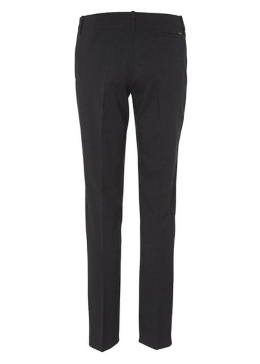 Armani jeans pantalone blu da donna modello classico tasche a filo-1