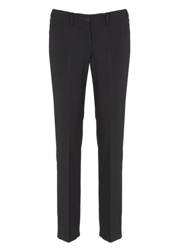 Armani jeans pantalone blu da donna modello classico tasche a filo c086203d917
