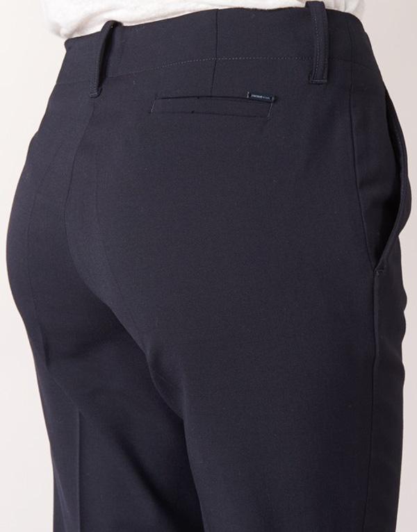 Armani jeans pantalone blu da donna modello classico tasche a filo-2