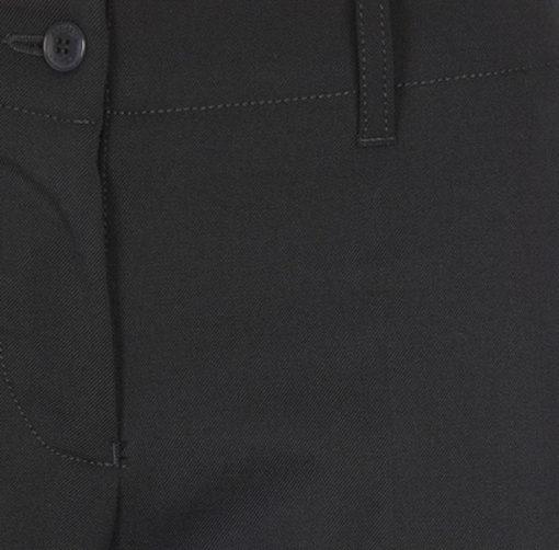 Armani jeans pantalone blu da donna modello classico tasche a filo-3
