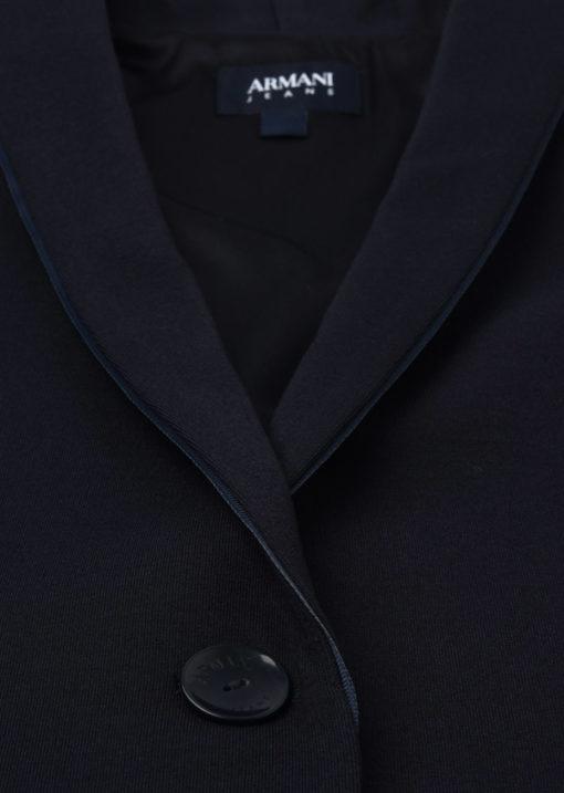 Armani jeans giacca da donna blu slim fit-1