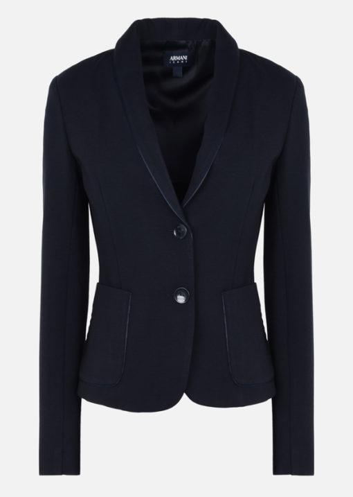 Armani jeans giacca da donna blu slim fit