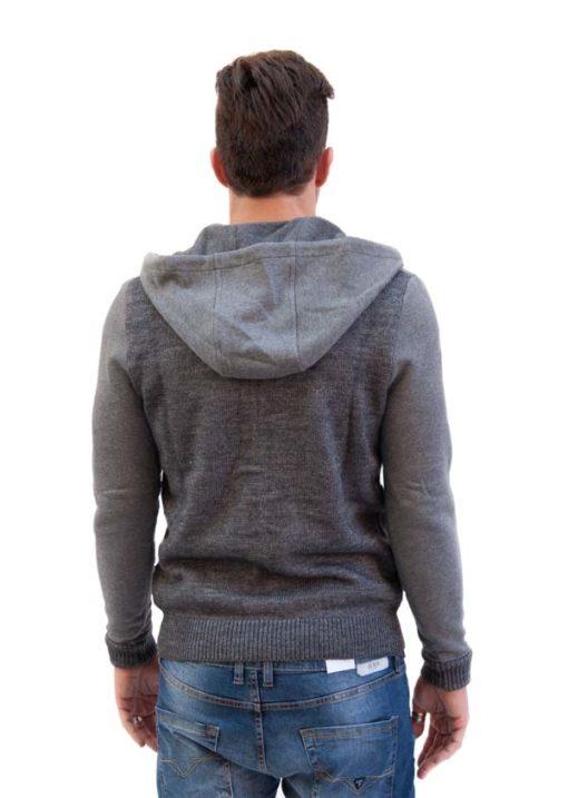 GUESS maglia da uomo a cardigan con cappuccio -2