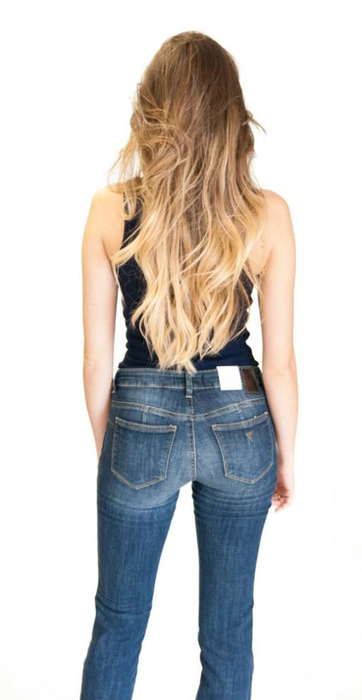 GUESS jeans con gamba dritta da donna -4