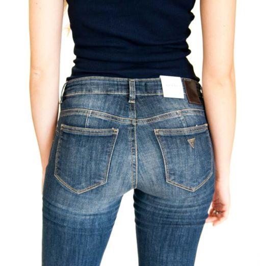 GUESS jeans con gamba dritta da donna -3