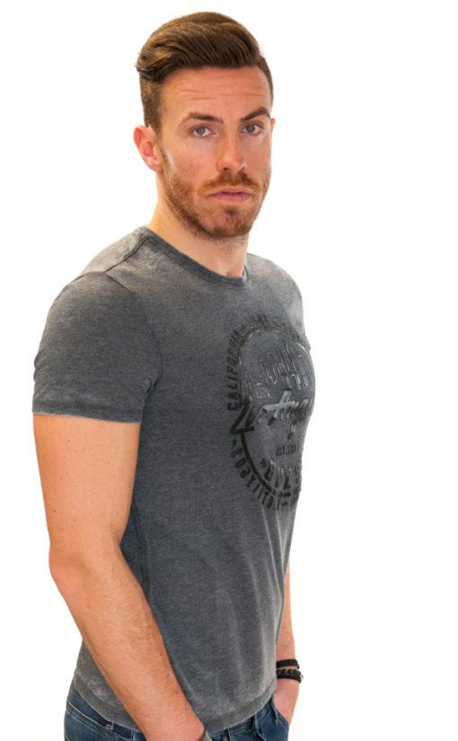 Maglietta da uomo Guess in tessuto lavato