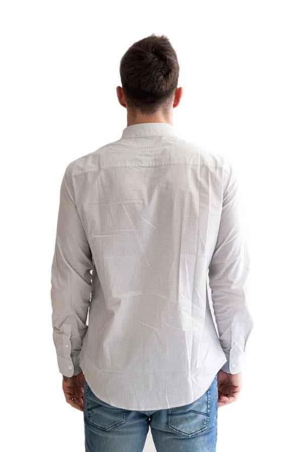 Armani Exchange camicia da uomo con piccola fantasia -1