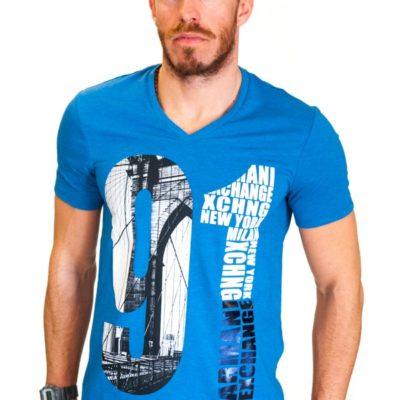 Armani Exchange maglietta da uomo con stampa