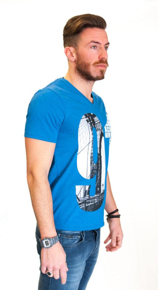 Armani Exchange maglietta da uomo con stampa -3