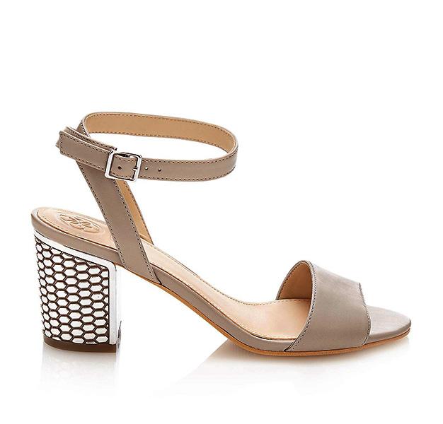 scarpa Guess da donna con tacco lavorato largo-1