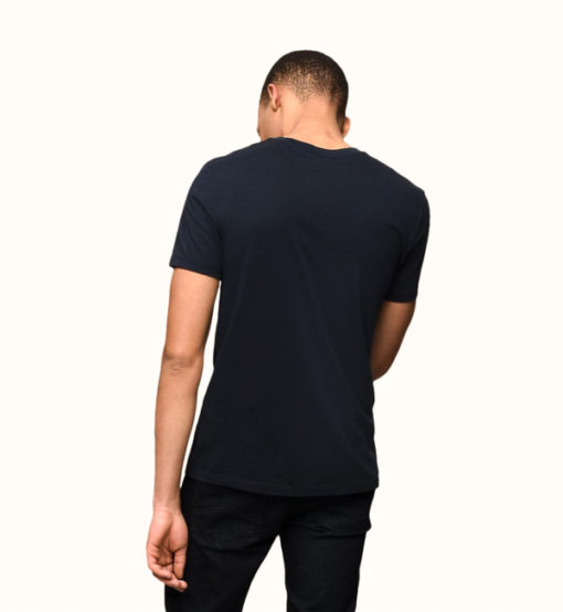 Armani Exchange t-shirt girocollo in Pima cotton-4