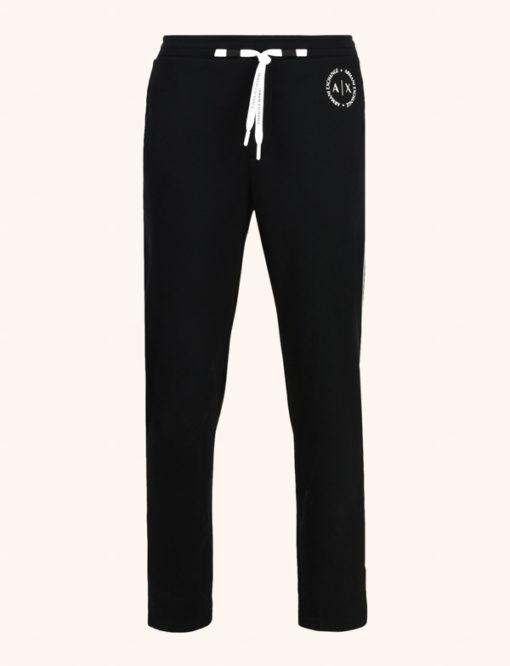 Armani Exchange pantalone della tuta blu da uomo-1