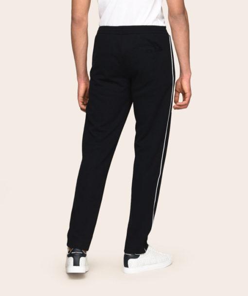 Armani Exchange pantalone della tuta blu da uomo-3