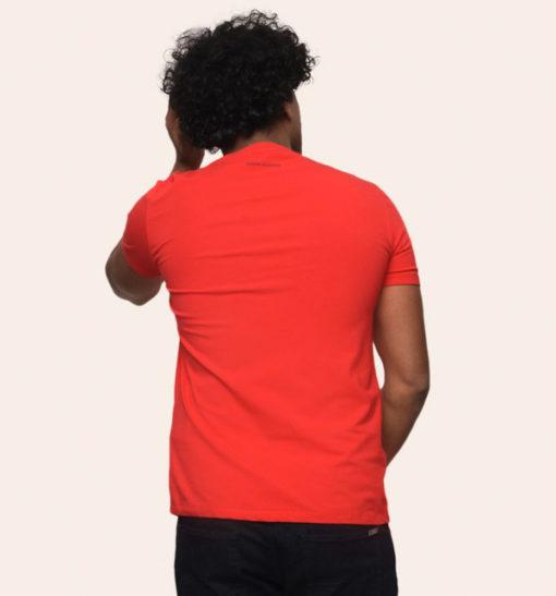 Armani Exchange maglietta mezza manica stretch da uomo con logo A|X -4