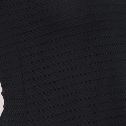 Armani Exchange top blu in tessuto lavorato -2