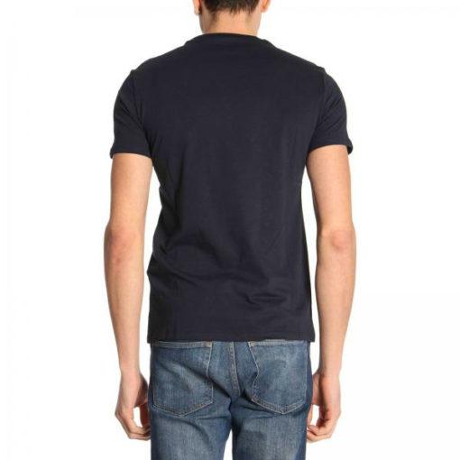 ARMANI EXCHANGE t-shirt mezza manica da uomo con stampa lucida -4