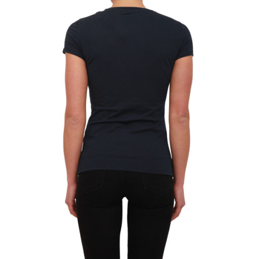 ARMANI EXCHANGE t-shirt stretch da donna in tinta unita -4