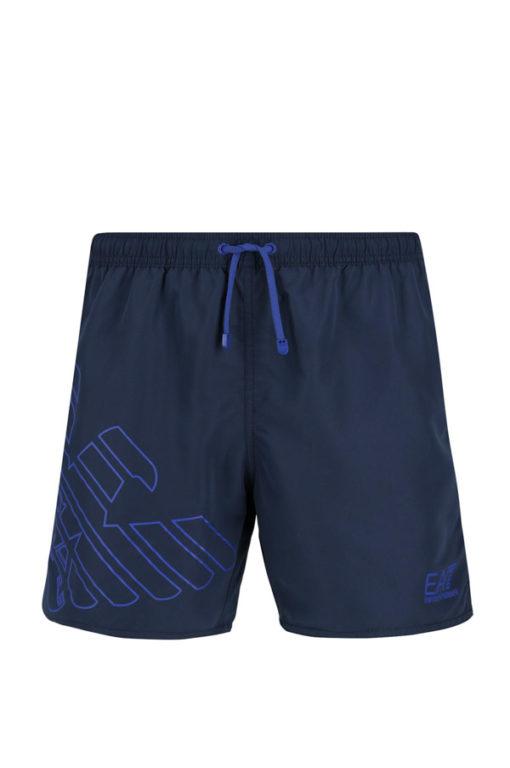 Pantaloncino boxer mare blu da uomo EA7 Emporio Armani -2