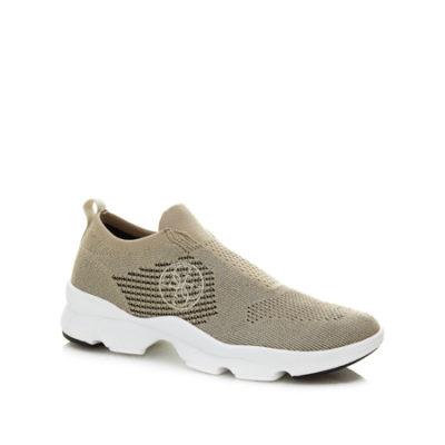 Sneakers oro con suola bianca GUESS da donna -1