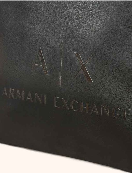 Armani Exchange borsello uomo in similpelle -2