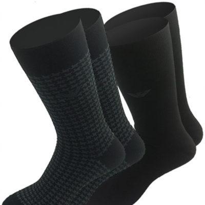 Emporio Armani 2 pack calze da uomo