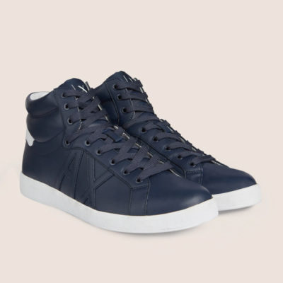 Armani Exchange sneakers uomo alte blu