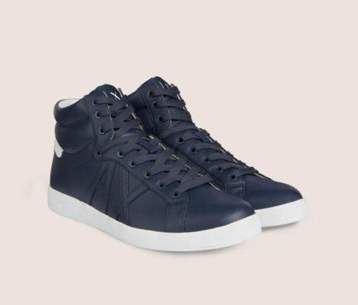 Armani Exchange sneakers uomo alte blu