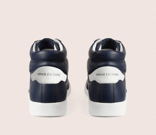 Armani Exchange sneakers uomo alte blu-4