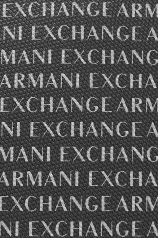 ARMANI EXCHANGE borsello da uomo con scritta all over-1