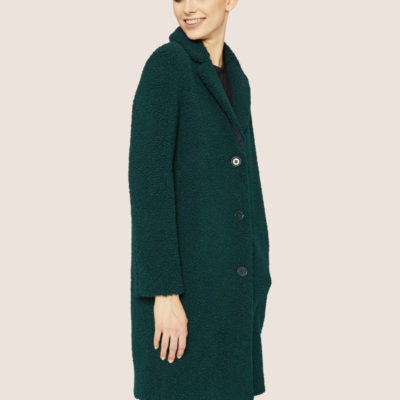 ARMANI EXCHANGE cappotto verde da donna