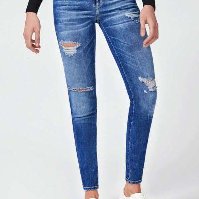 GUESS jeans shape up da donna con strappi