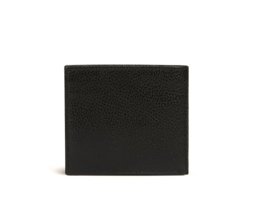 Portafoglio tinta unita nero da uomo Armani Exchange-2