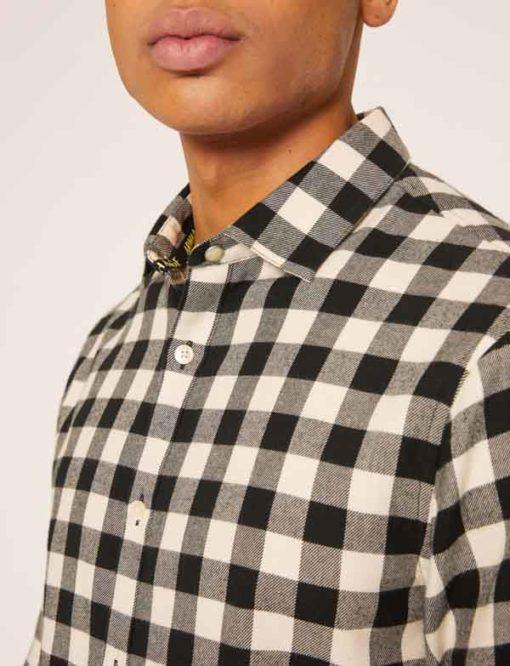 ARMANI EXCHANGE camicia uomo a quadri grossi -2