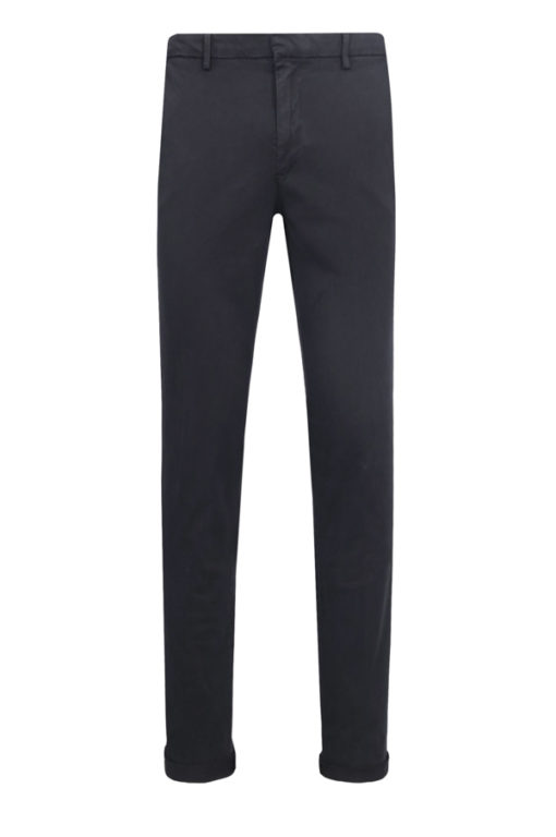 Armani Exchange pantalone da uomo blu chino stretch