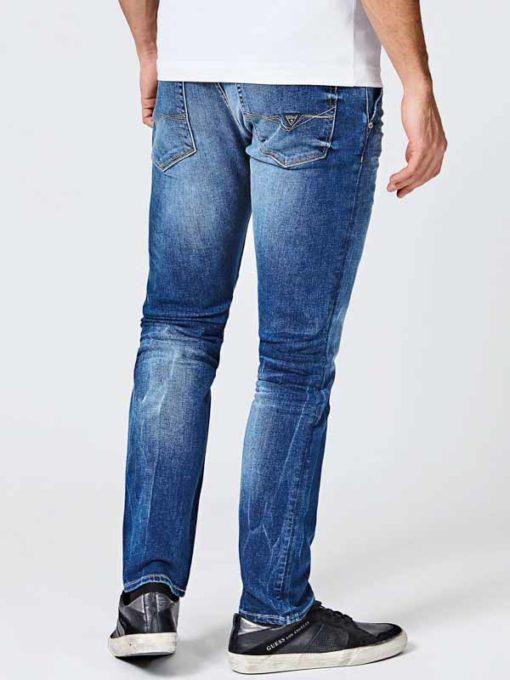 GUESS jeans chino skinny da uomo-2